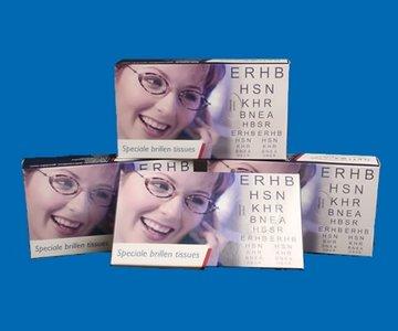 Optima Clear Speciale Brillen Tissues (per 4)